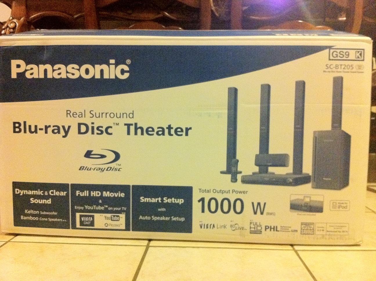 للبيع مسرح منزلي Panasonic المؤشرنت