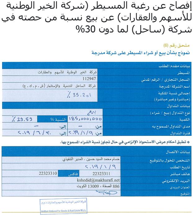 2019-01-09- الساحل - الخرافي - حديث النفس.PNG